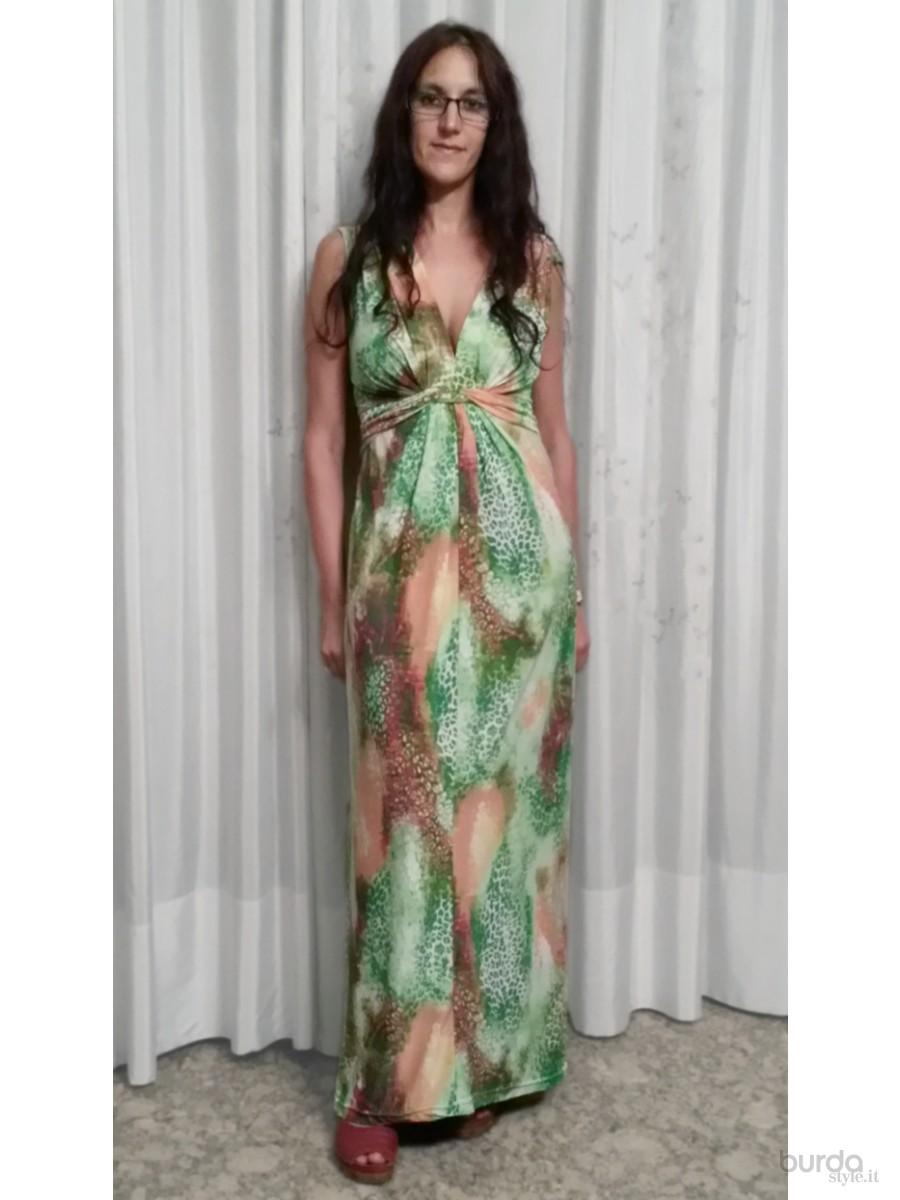 spesso Cartamodello vestito lungo estivo – Abiti donna GD69