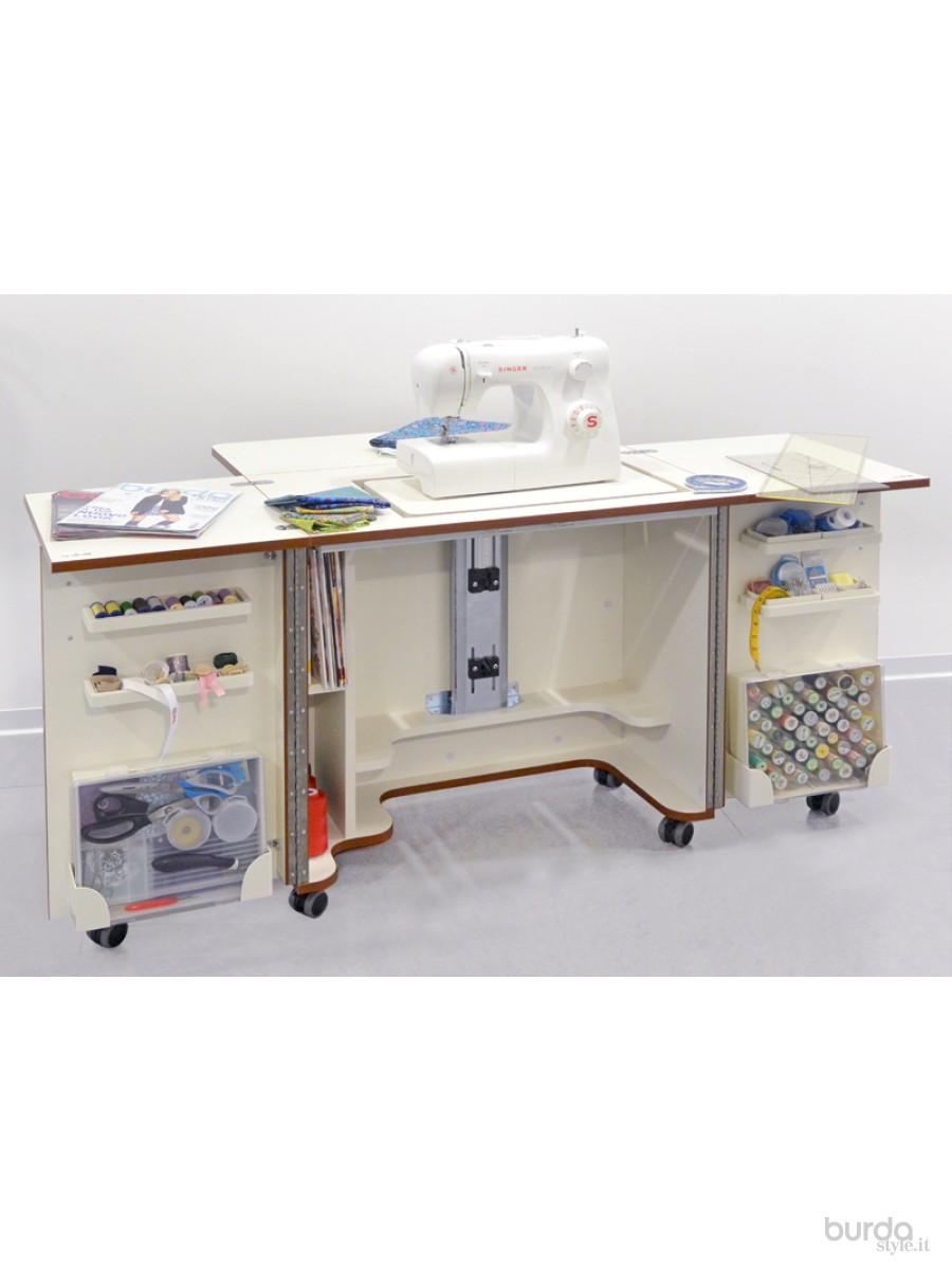Mobile per il cucito il mondo dei cartamodelli e del cucito - Tavolo macchina da cucire ...