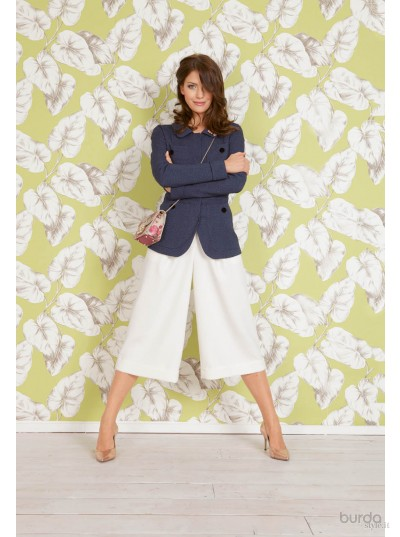 Gonna-pantalone svasata