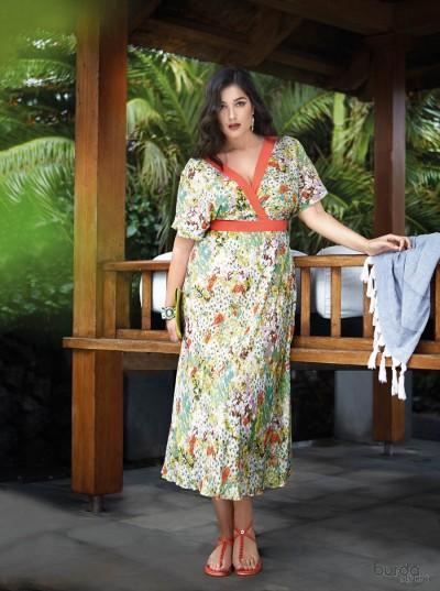 Abito kimono incrociato