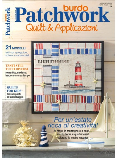 Burda Patchwork N.10/2014