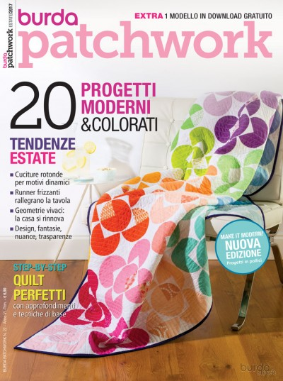 Burda Patchwork N. 22/2017