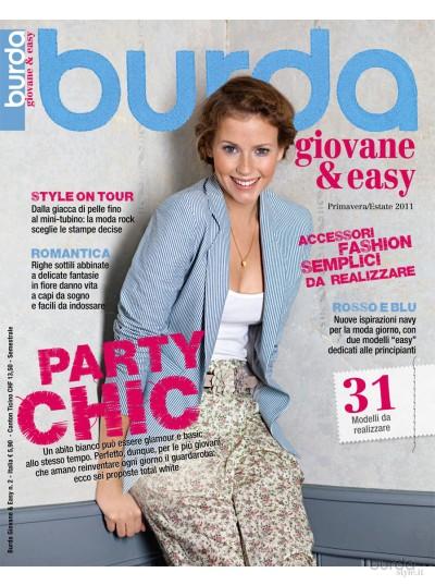 Burda giovane&easy P/E 2011 n.2
