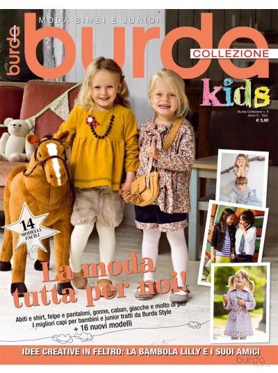 Burda Collezione Kids n. 08/2011