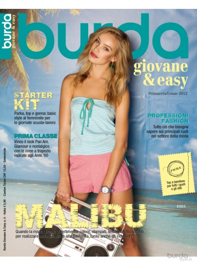 Burda giovane&easy P/E 2012 n.4