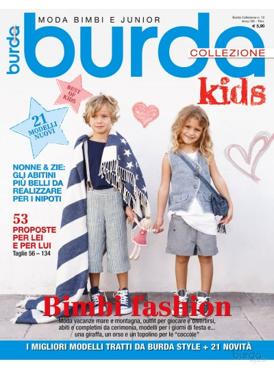 Burda Collezione Kids 2014 n.12