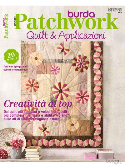 Burda Patchwork N.18/2016