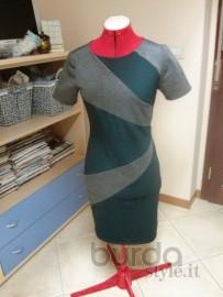 abito bicolore