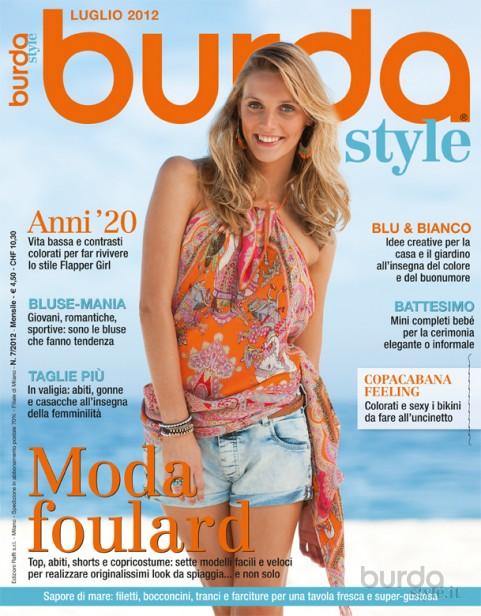 Burda Style Luglio 2014 Il Mondo Dei Cartamodelli E Del Cucito