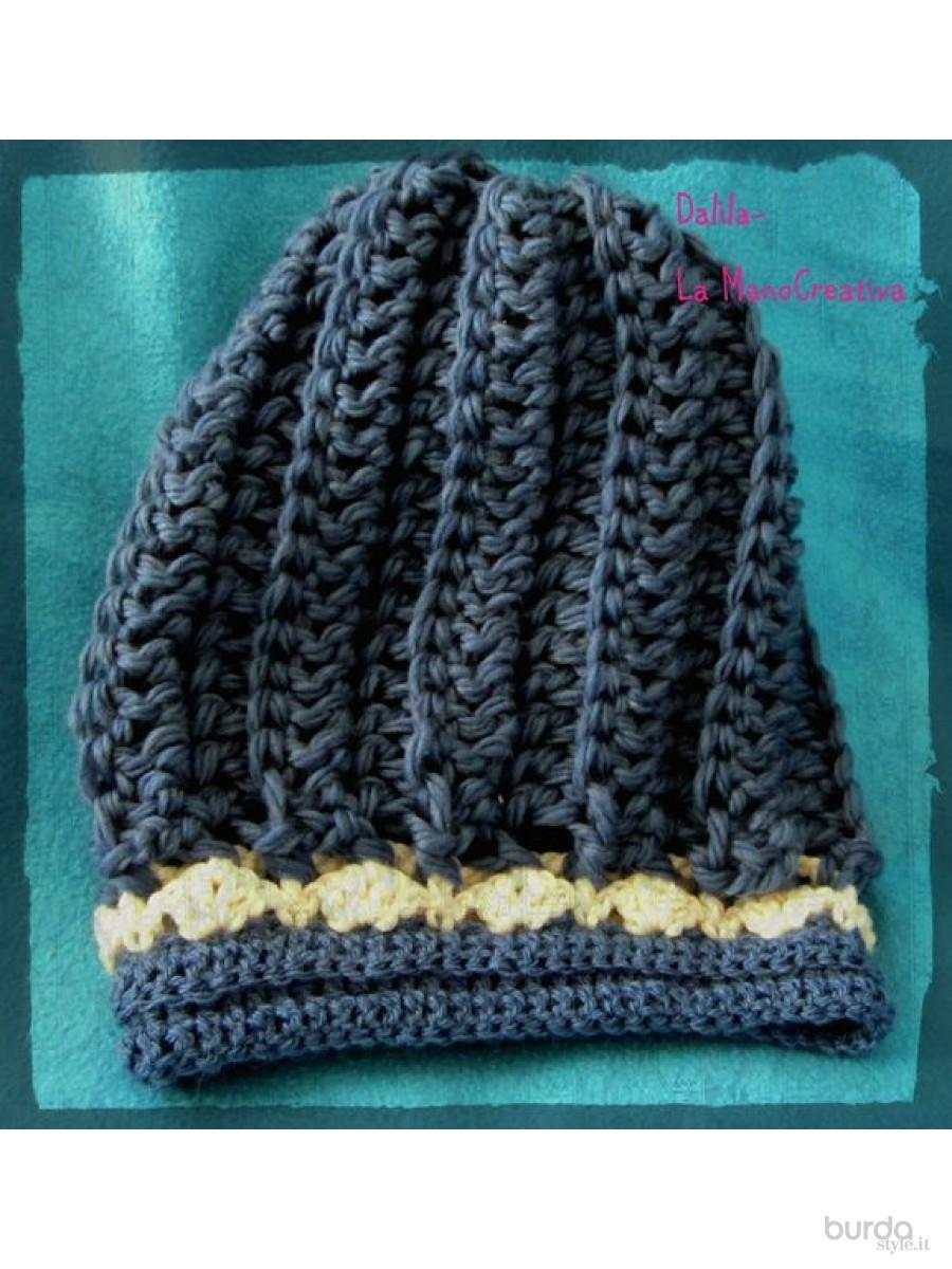 Cappello Uncinetto Modello Rasta Il Mondo Dei Cartamodelli E Del Cucito