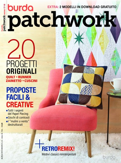 Burda Patchwork N. 24/2018