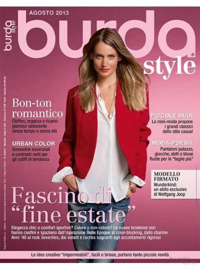 Burda Style 08/2013