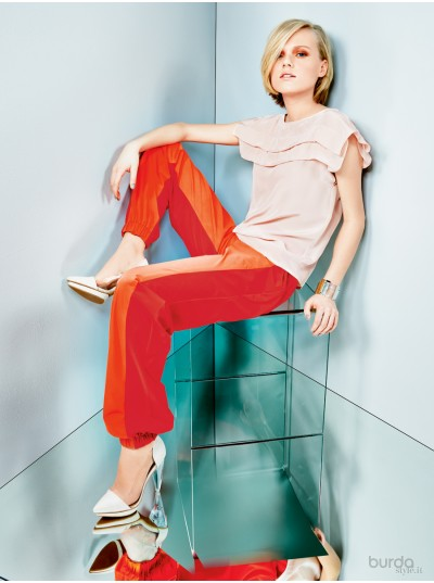 Pantaloni con elastici