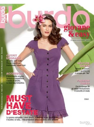 Burda giovane&easy P/E n.8/2014