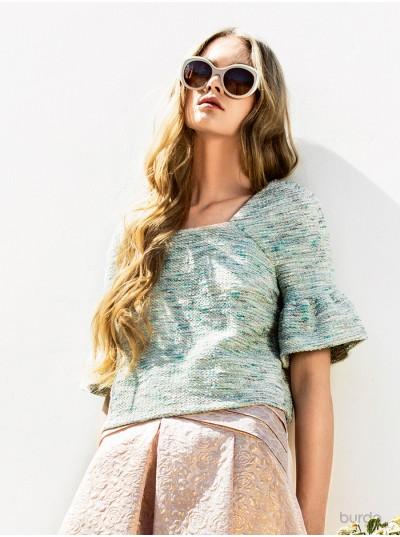 Blusa color pastello
