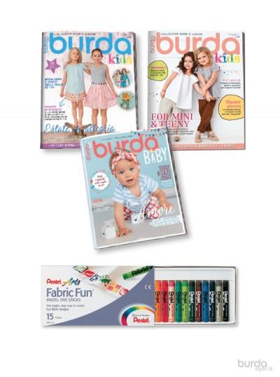 Burda Collezione Kids 15/2017+16/2018 +17/2018