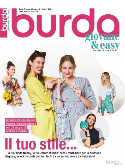 Burda giovane&easy P/E n.16/2018