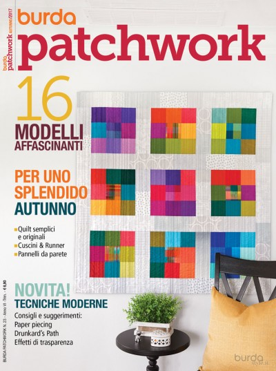 Burda Patchwork N. 23/2017