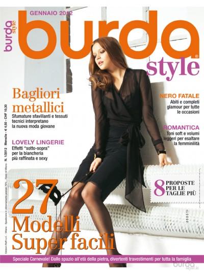 Burda Style 01/2012