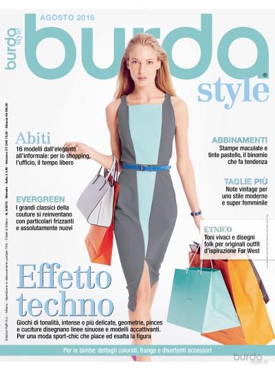 Burda Style 08/2015