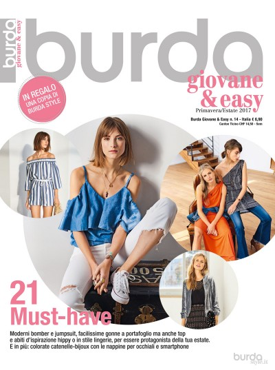 Burda giovane&easy P/E n.14/2017