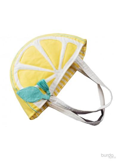 """Borsa a """"fetta di limone"""""""