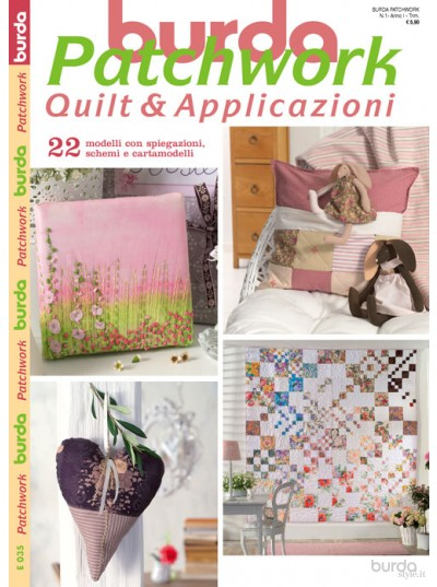 Burda Patchwork N.1/2012