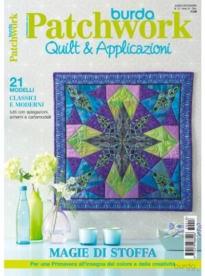 Burda Patchwork N.13/2015