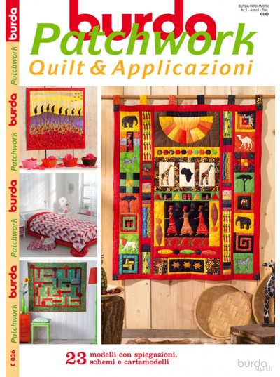Burda Patchwork N.2/2012