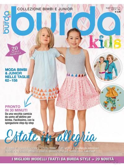 Burda Collezione Kids  n.15/2017