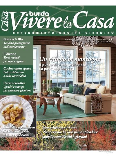 Burda Vivere la Casa n.6 Dic. 2018/Gen. 2019