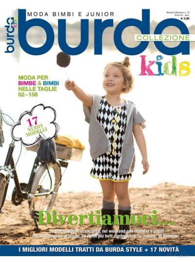 Burda Collezione Kids  n.13/2015