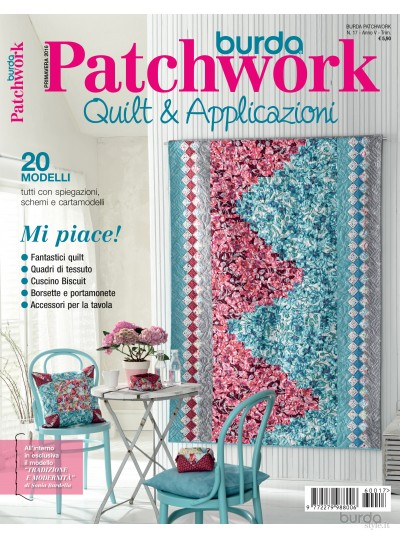 Burda Patchwork N.17/2016