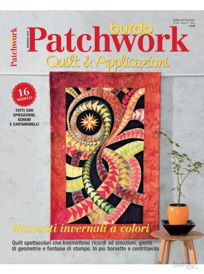Burda Patchwork N. 20/2016