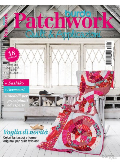 Burda Patchwork N. 21/2017