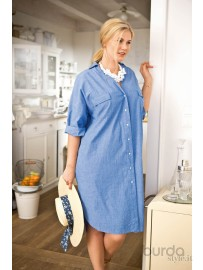 Chemisier in chambray