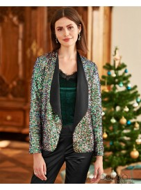 Blazer in paillettes