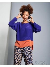 Shirt bicolore